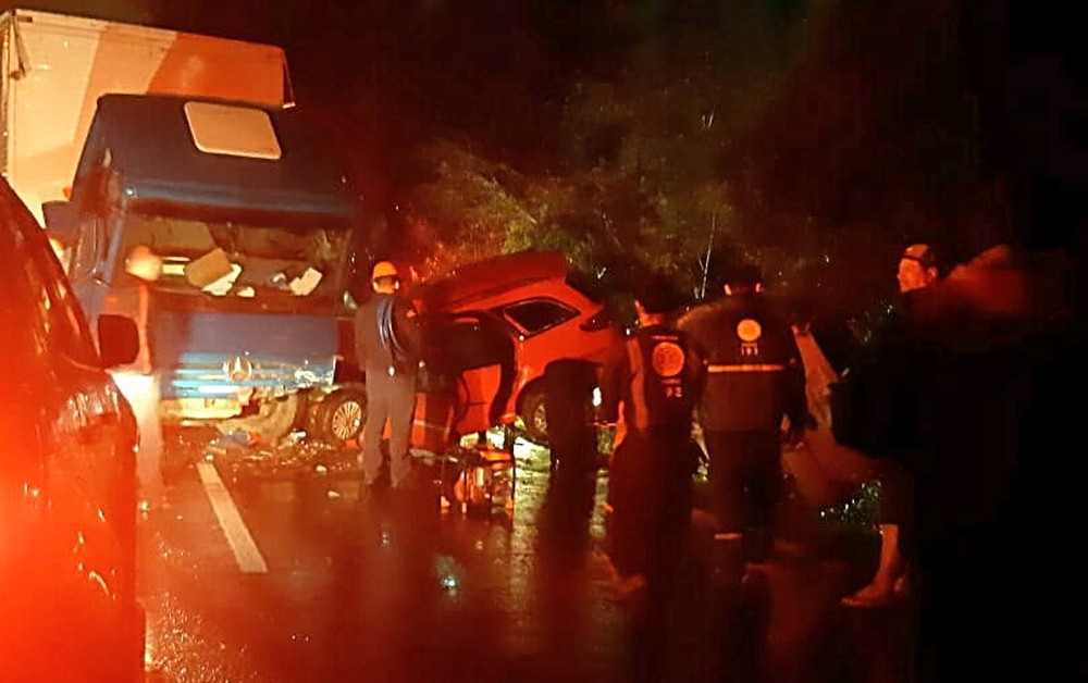 Acidente na BR-386 em Nova Santa Rita