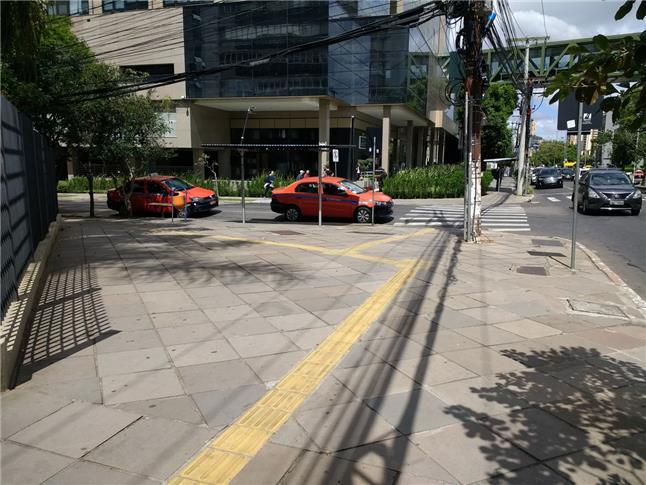Calçadas em Porto Alegre