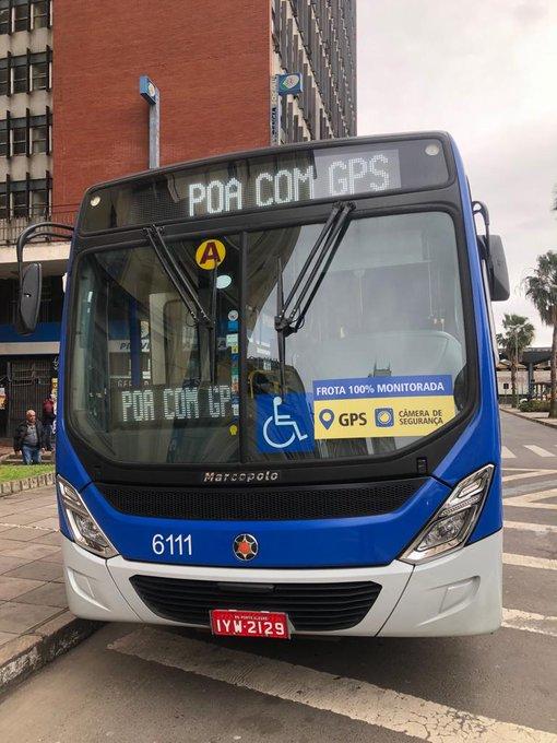 Ônibus com GPS