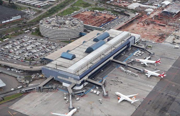 Aeroporto Salgado Filho no Sul