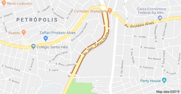Avenida Senador Tarso Dutra