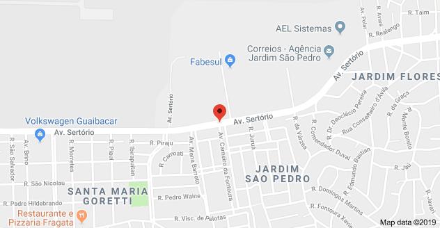 Cruzamento Avenida Sertório