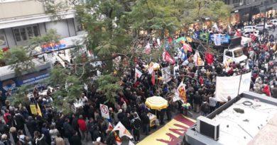 Protesto em Porto Alegre