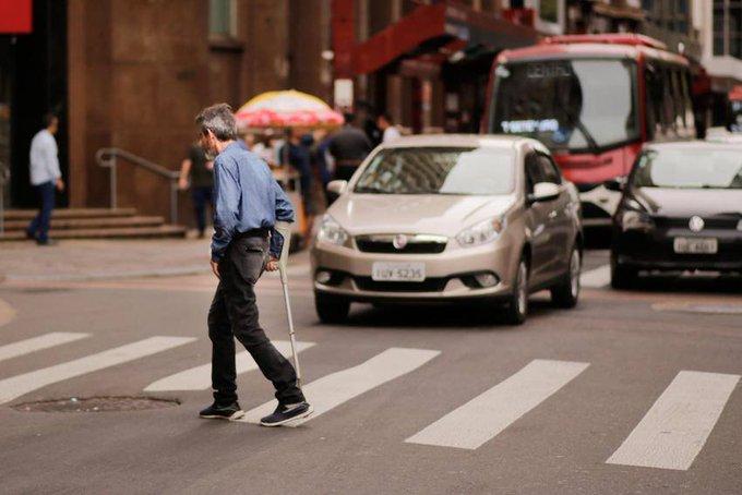 Redução no trânsito