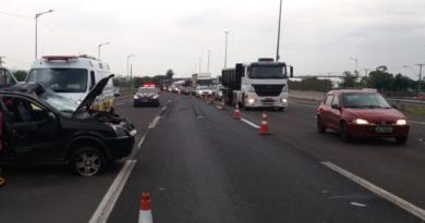 Acidente na Freeway