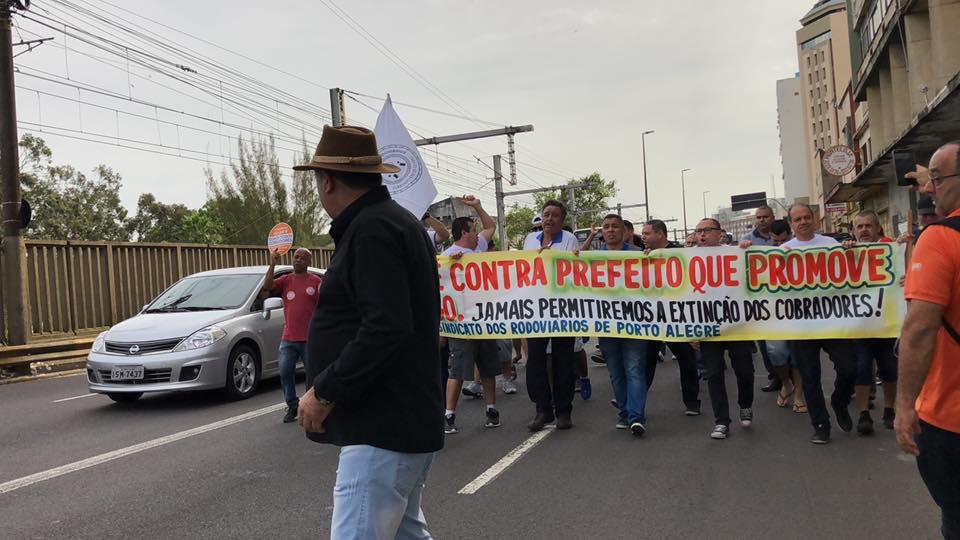 Rodoviários Protesto