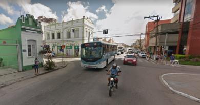 Rua Marechal Deodoro em Pelotas
