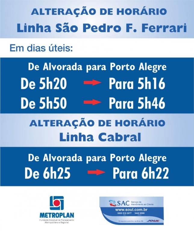Linha São Pedro