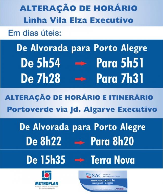 Linha Vila Elza Executivo