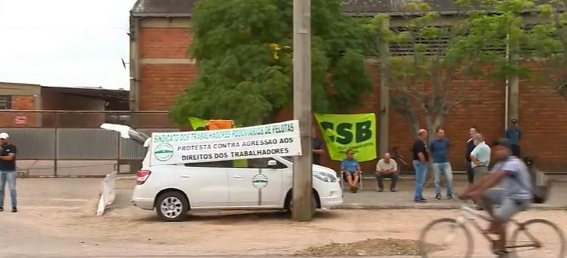 Greve de ônibus em Pelotas