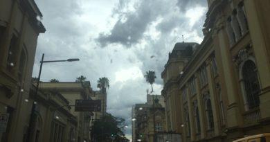 Chuva em Porto Alegre