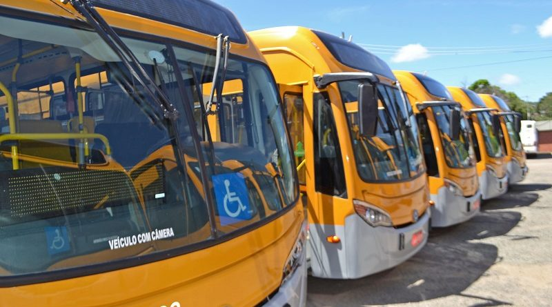 Novos ônibus Carris