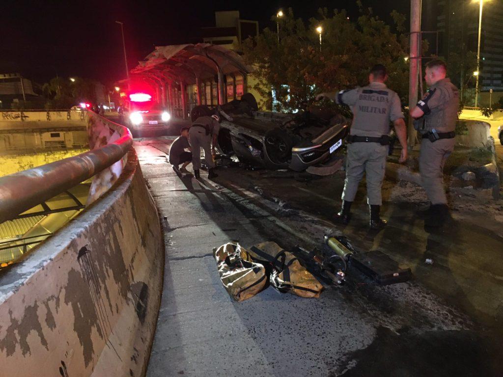 Acidente na Avenida Protásio Alves