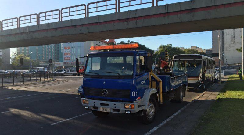 Ônibus quebrado Conceição