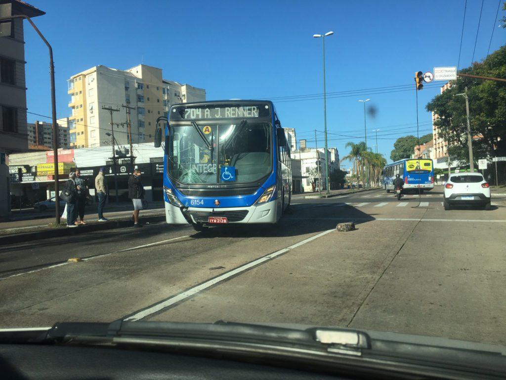 Linha 704 Ônibus Avenida Farrapos