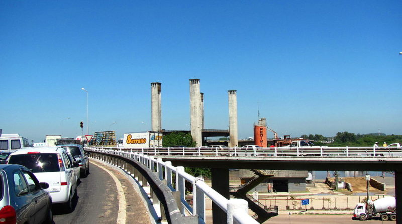 Obras Ponte do Guaíba