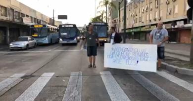 Rodoviários Manifestação
