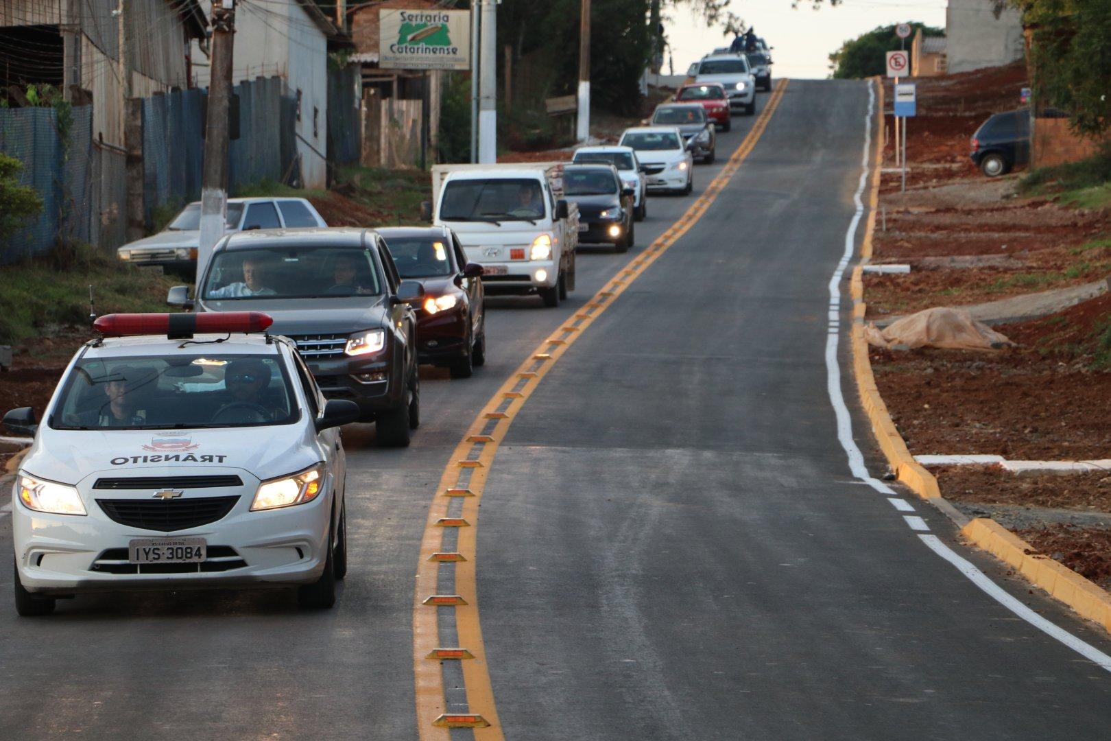 Estrada Neópolis em Gravataí