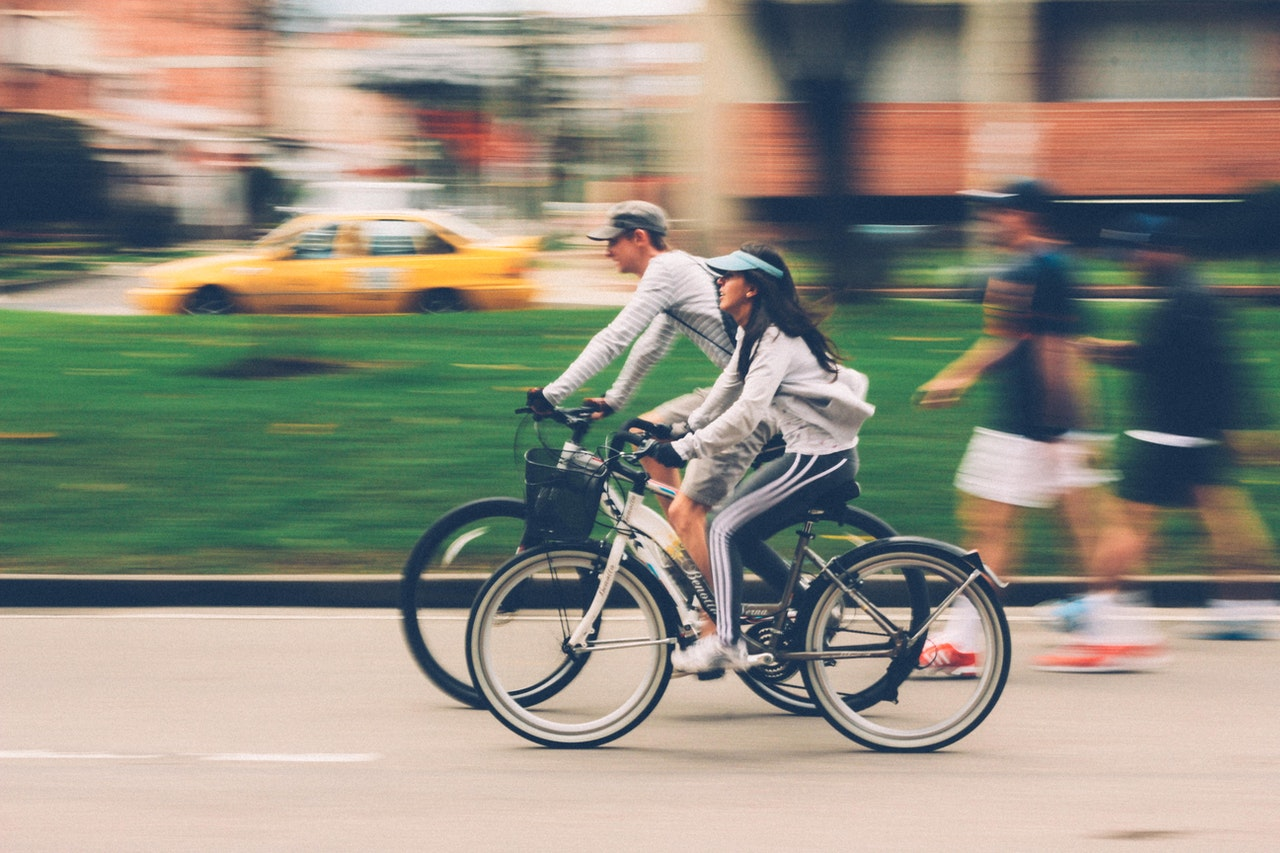 Ciclista no Trânsito