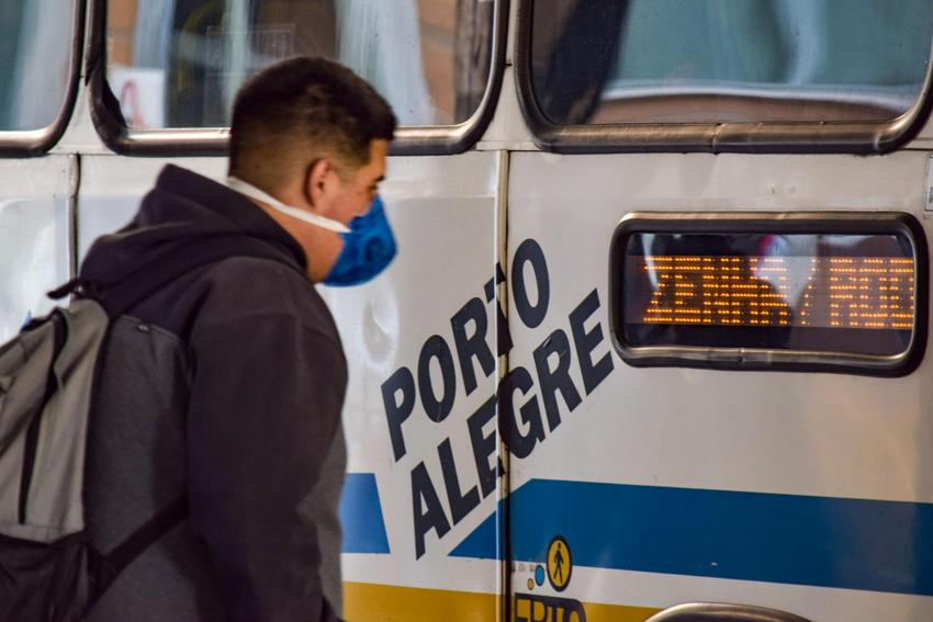 Covid Ônibus Porto Alegre