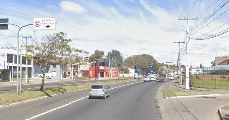 Avenida Sertório Correios
