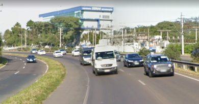 BR-116 em São Leopoldo