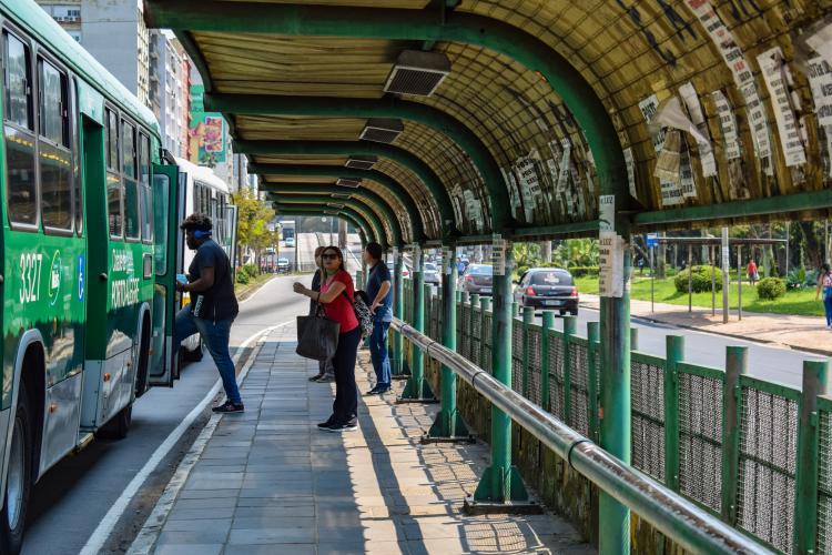 Ponto Ônibus Porto Alegre