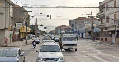 Avenida Sertório com Rua Souza Reis