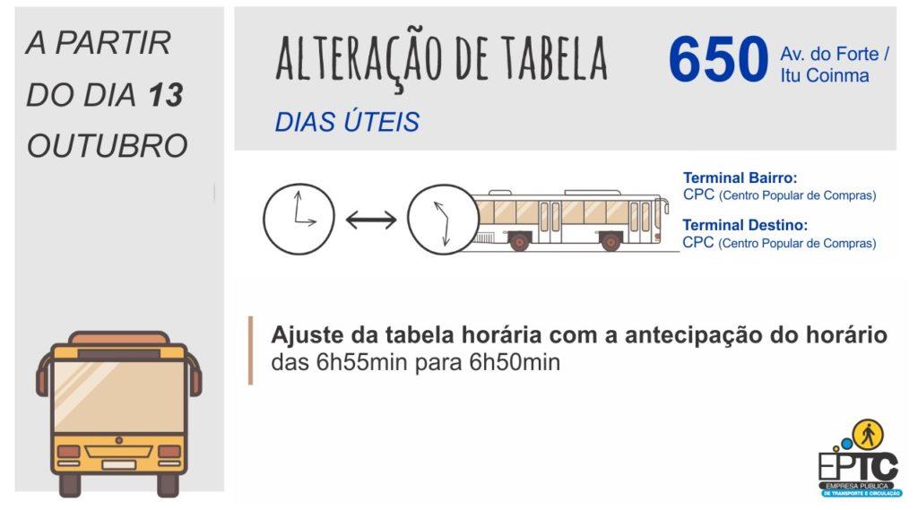 Linha 650