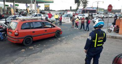 Manifestação na Lomba