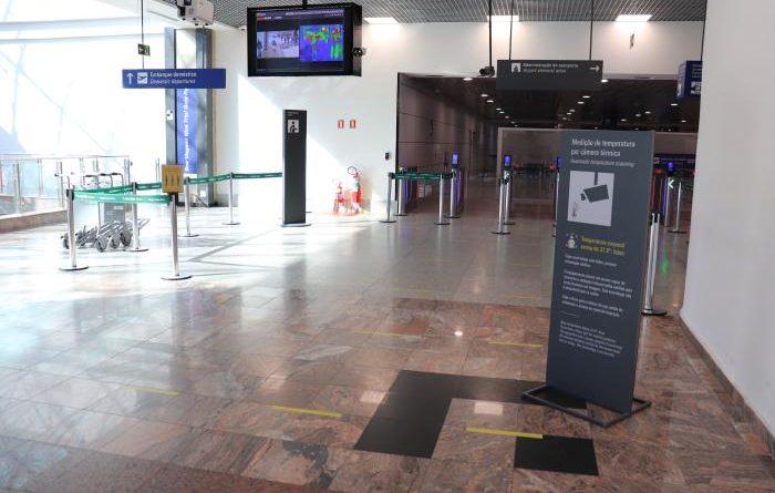 Câmera Aeroporto