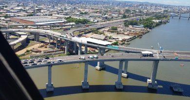 Nova Ponte do Guaíba Inauguração