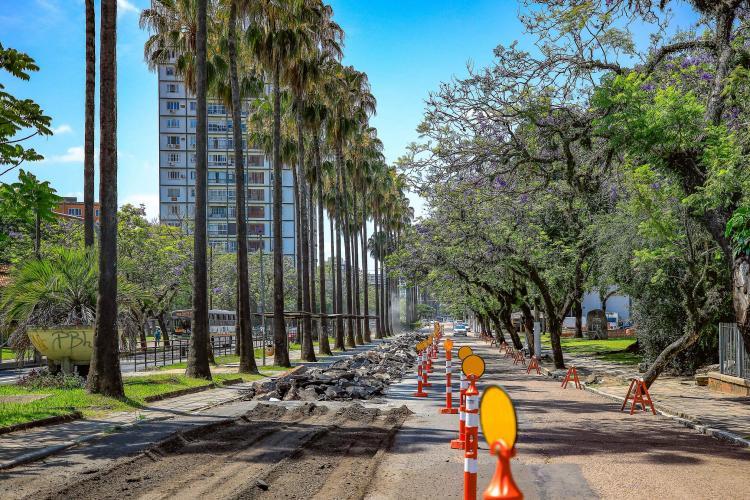 Obras Avenida João Pessoa
