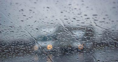 Chuva Trânsito Veículo
