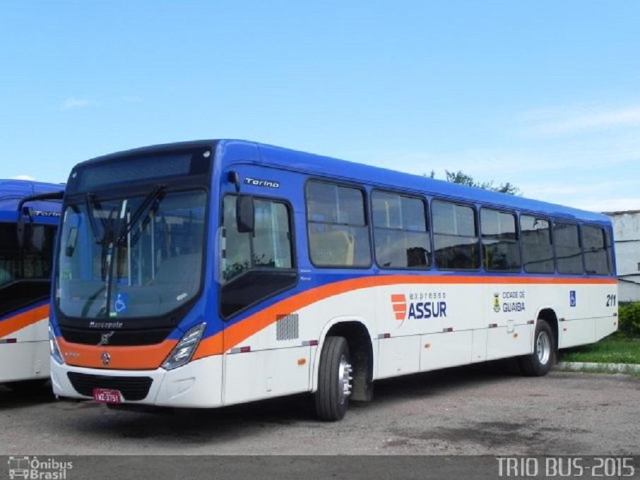 Ônibus da Expresso Assur