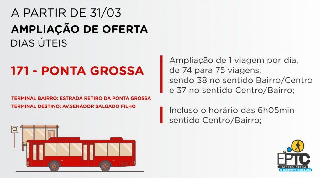 171 Ponta Grossa Ônibus