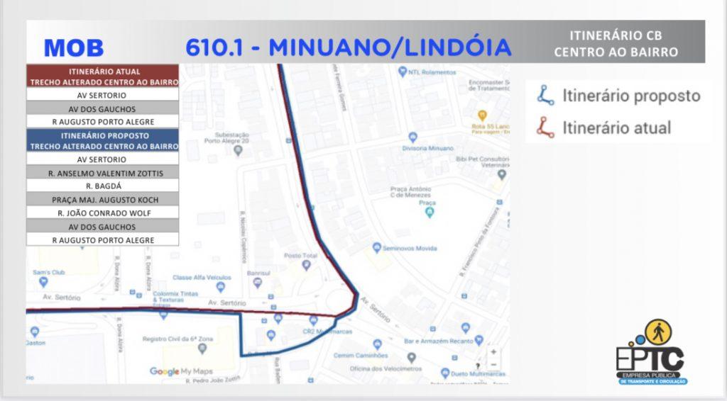 610 Linha