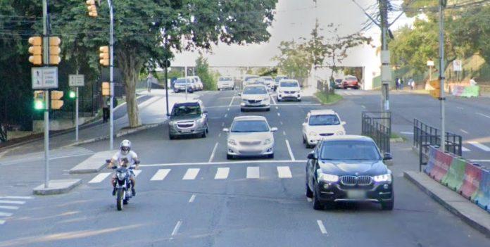 Avenida Nilo Peçanha Trânsito